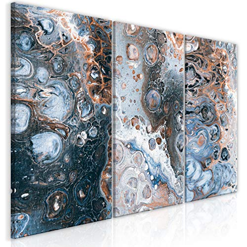Murando   Cuadro Lienzo Abstracto 120x60 cm 3 Partes
