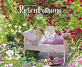 Rosenträume 2020: Großer Wandkalender. Foto-Kunstkalender Rosen-gärten. Querformat 55 x 45,5 cm -