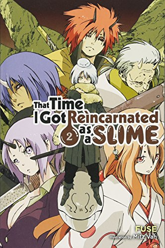 That Time I Got Reincarnated as a Slime, Vol. 2 (light novel) por Fuse
