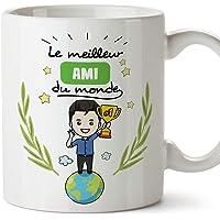 MUGFFINS Mug/Tasse Ami -Famille Monde -Idées Cadeaux Drôles -Tasses de Café/Thé