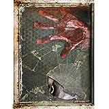 Rosennie Halloween Horror Aufklebe,Decal Removable Terror Haushalt Zimmer Wand Aufkleber Wandaufkleber 3D Wandsticker Wandtattoos Aufkleber für Home Halloween Party Deko 60cm*45cm (C 1)