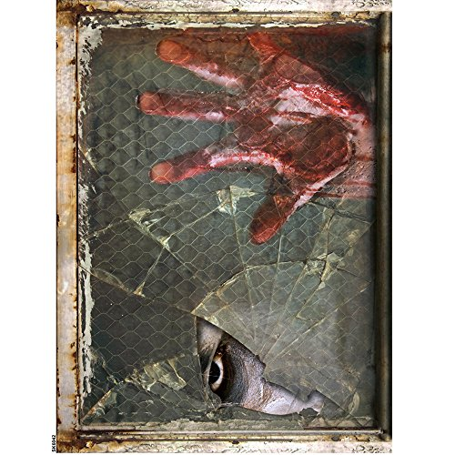 (Rosennie Halloween Horror Aufklebe,Decal Removable Terror Haushalt Zimmer Wand Aufkleber Wandaufkleber 3D Wandsticker Wandtattoos Aufkleber für Home Halloween Party Deko 60cm*45cm (C 1))