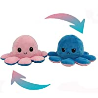 Ek Rag Reversible Octopus Plushie | Show Your Mood Without Saying a Word Sad Happy Angry Instagram Couple Gift Soft Toy…