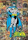 MightyPrint Batman–DC Comics Classique Collage Art Mural–Gains Durable lumière Danser Décor