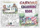 CARAVAN COLOURING BOOK - ARMAND FOSTER A4 SET No. 3 - CARAVAN CARTOONS