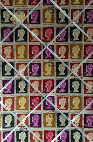 Extra Large 90x 60cm prestigiosi Mulberry prima classe timbro a mano Crafted tessuto avviso/Pin/Memo/scheda di memoria - Avviso Stamp