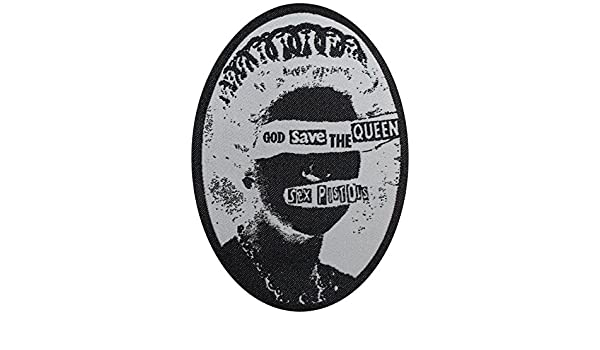 c8505165e8 Application Sex Pistols Queen Woven Patch  Amazon.in  Toys   Games