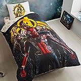 Immer _ Günstigsten 100% Türkische Baumwolle 3PCS. Avengers Infinity Krieg Spiderman Captain America Groot Iron Man black widow Hulk Thor Single Twin Größe Ranforce Quilt Bettbezug Set Bettwäsche