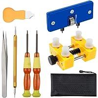 Vastar Kit de Réparation Montres,Kit de Remplacement de Batterie Montres Professionnel et Outil pour Ouvrir Montre…