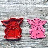 GoSolid3D Baby Yoda/Plätzchen Ausstechform Keksausstecher/Cookie Cutter/The Mandalorian