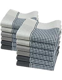 Pañuelos de caballero - Modelo « Oliver » - 40 centimetros - 100% algodon.
