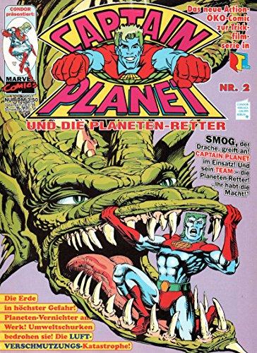 *Verlagsvergriffen* CAPTAIN PLANET und die Planeten-Retter Comic Magazin # 2: Smog - Atem des Grauens!