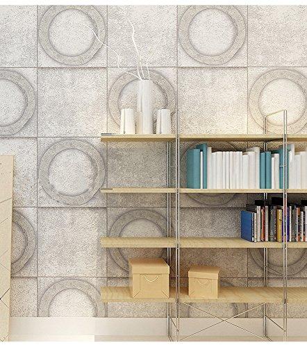 BTJC Piastra metallica retrò stile LOFT eoliche industriali wallpaper sesso tema bar ristorante Café parete , 151402
