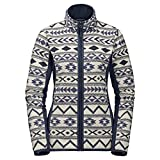 Jack Wolfskin Damen Hazelton Flex Jacket Women, Damen, 1705931, Midnight Blue All Over, m
