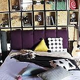 YIWANGO Nachtkissen Weiche Tasche Schlafsofa Rückenlehne/Doppelseitige Verwendung/Abnehmbare Wäsche/Multi-Size Optional,J-150 * 50cm