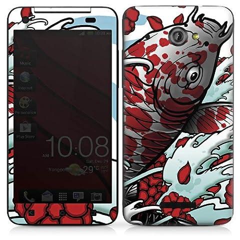 HTC Butterfly Autocollant Protection Film Design Sticker Skin Carpe koi Mai Koi Art
