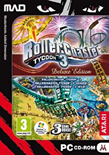 Rollercoaster Tycoon 3 - Deluxe Edition (PC CD) [import anglais] (B0031ESIZQ) | Amazon price tracker / tracking, Amazon price history charts, Amazon price watches, Amazon price drop alerts