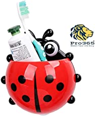 PRO365® Ladybird Insect Shaped Toothbrush Holder with Double Tape - Random Color