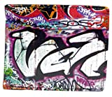Shagwear Herren Geldbörse, Mens Wallet: Verschiedene Farben und Designs: (Bunte Graffiti/Colorful Graffiti)