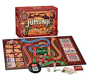 JUMANJI BOARD GAME PERFECT GIFT! Free UK Delivery Exclusive to Amazon from JUMANJI