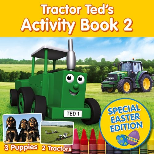 Tractor Ted Activity Book 2 Special Easter Edition
