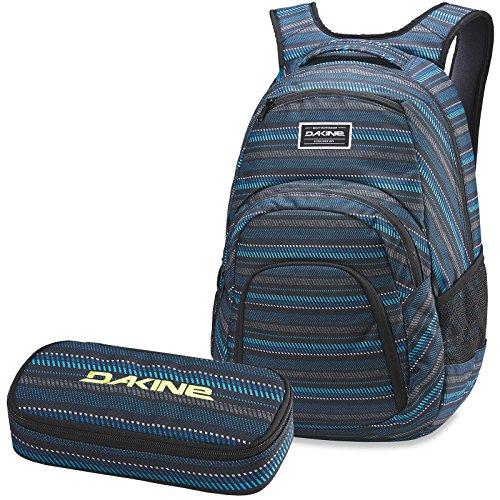 DAKINE 2er SET Rucksack Schulrucksack Laptoprucksack 33l CAMPUS LG + SCHOOL CASE Mäppchen Ventana