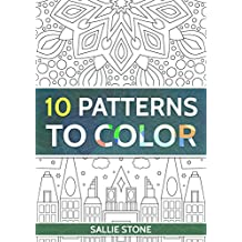 10 Patterns To Color (English Edition)