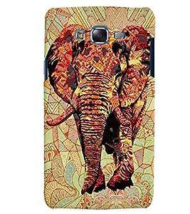 Citydreamz Elephant/Animals Hard Polycarbonate Designer Back Case Cover For Samsung Galaxy J2 2016 Edition