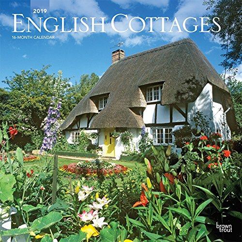 English Cottages - Englische Landhäuser 2019 - 18-Monatskalender (Wall-Kalender)