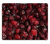 luxlady Caucho Natural Gaming Alfombrillas de alimentos Sanos orgánico Nutrición seca Cranberries Cranberry Frutas como imagen de fondo de identificación 25842366