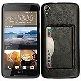 BYD-Schwarz HTC Desire 828w Tasche PULederCase Flip