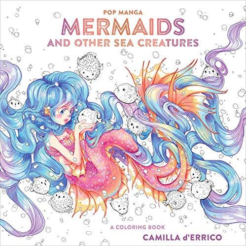 Preisvergleich Produktbild Pop Manga Mermaids and Other Sea Creatures: A Coloring Book (Colouring Books)
