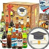 Zur Promotion | besonderes Geschenk zur Promotion | Bier aus der Welt