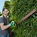 Garden Gear Electric Hedge Trimmer with 61cm Blade, Blade Cover & 10m Cable (600W Hedge Trimmer)