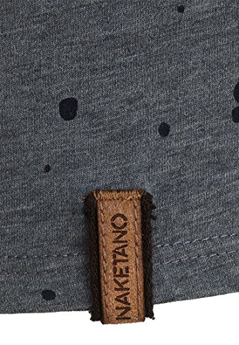 Naketano Male Sweatshirt Nordschleife made men Heritage Dark Ash Melange