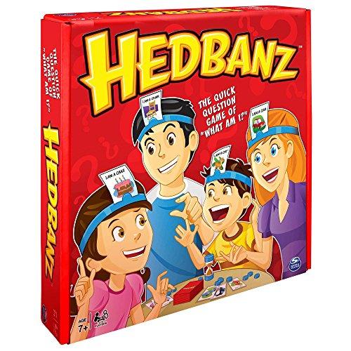 Spin Master - Hedbanz, juego de preguntas, versión en inglés [Importado de Inglaterra]