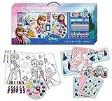 Frozen - Set Valigetta Colori Deluxe, 1000 Pezzi