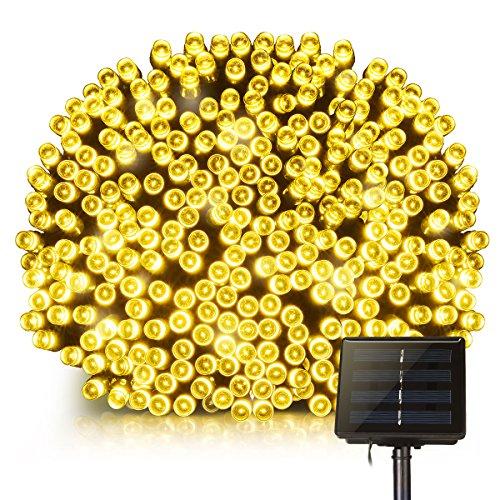 Cadena Solar de Luces,Guirnalda Luz LED Solar Mpow 22M 200 LED 8...