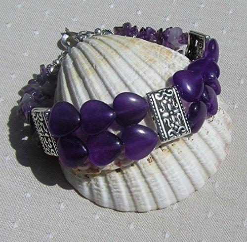gemstone-heart-bracelet-purple-amethyst-regal-heart