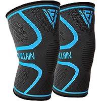Sport Kniebandagen für Elastische Knie Kompression - Ideal für Gewichtheben, Crossfit, Wandern, Joggen, Laufen... preisvergleich bei billige-tabletten.eu