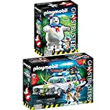 PLAYMOBIL 9220+9221 Ghostbusters™ Set - Ecto-1 und Marshmallow Man