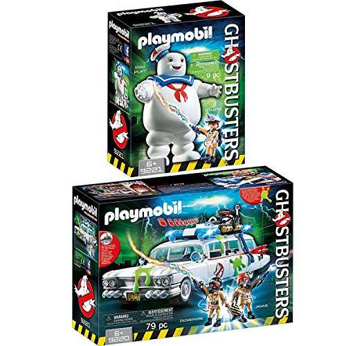 Ghostbusters™ Set - Ecto-1 und Marshmallow Man (Marshmallow Man Ghostbusters)