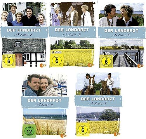 Staffel  1-5 (19 DVDs)