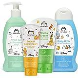 Mama Bear - Disney - Confezione mista di prodotti per bambino: bagnoschiuma, shampoo, crema per il cambio pannolino, crema vi