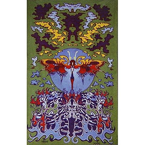 Old Glory-motivo: farfalla d'acqua, per la casa