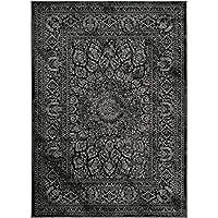 Bloomingville Teppich Läufer Star black Vorleger Stern 70 x 70 cm Vintage
