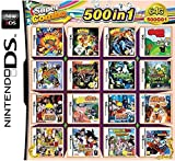 CMLegend 500 Spiele in 1 NDS Game Pack Card Super Combo Cartridge für DS 2DS New 3DS XL