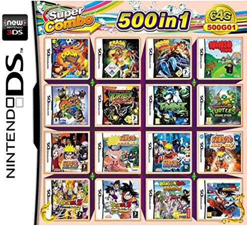 CMLegend 500 Jeux en 1 NDS Jeu Lot Carte Super Combo...