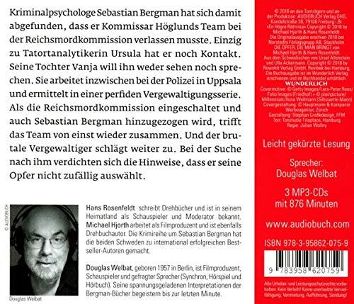 Die Opfer, die man bringt (3 MP3-CDs): Ein Fall für Sebastian Bergman (Die Fälle des Sebastian Bergman): Alle Infos bei Amazon
