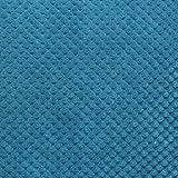Mason grau Chenille Spot Dotted Textur ungefüllt Kissenbezug, Polyester, aubergine, 43x 43x 1cm, Polyester, blaugrün, Cushion Cover: 55 x 55cm